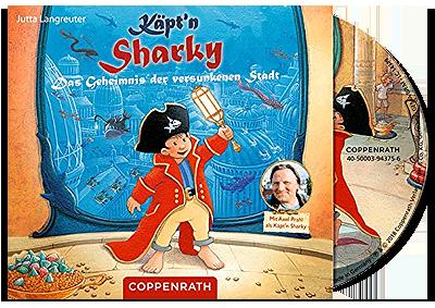 Käpt´n Sharky - Das Geheimnis der versunkenen Stadt CD-Hörspiel...