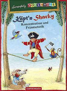 Lernerfolg Vorschule - Käpt´n Sharky - Erste Zahlen...