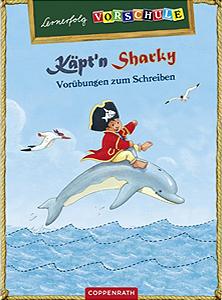 Lernerfolg Vorschule - Käpt´n Sharky - Vorübungen zum Schreiben...