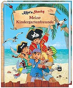 Käpt´n Sharky - Kindergarten-Eintragebuch...