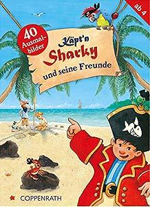 Käpt´n Sharky - Freunde-Ausmalbilder...